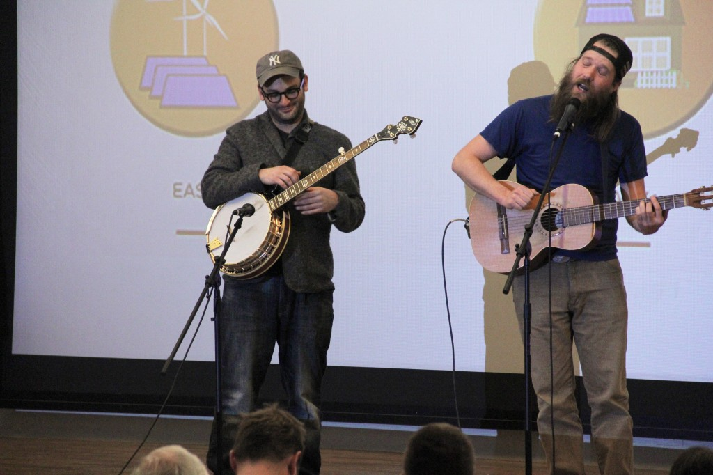 Josh Fox and Dustin Hamman lit up the night with their musical talents.