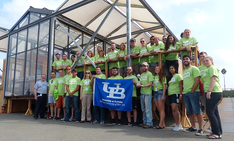UB GRoW Home's Operations and Disassembly team!